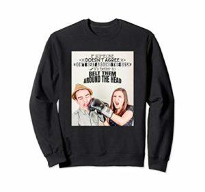 e12b3049c Un Motivational Un Inspirational Funny Quotes Sweatshirt C – Black ...